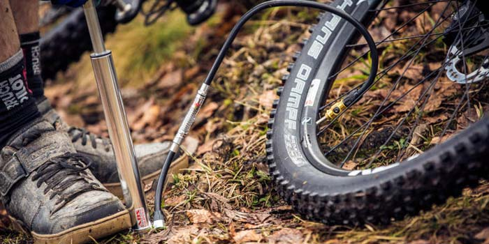 MINI PUMP - MUST HAVE MOUNTAIN BIKING EQUIPMENT
