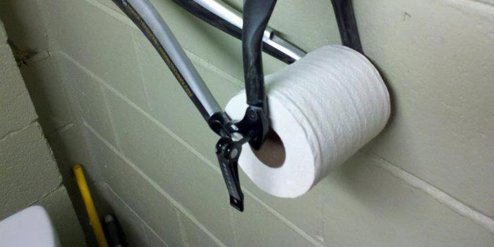 TOILET PAPER -  MUST HAVE MOUNTAIN BIKING EQUIPMENT