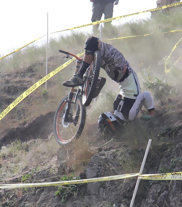 MOUNTAIN BIKING ACCIDENTS - IT MUST HAVE HURT