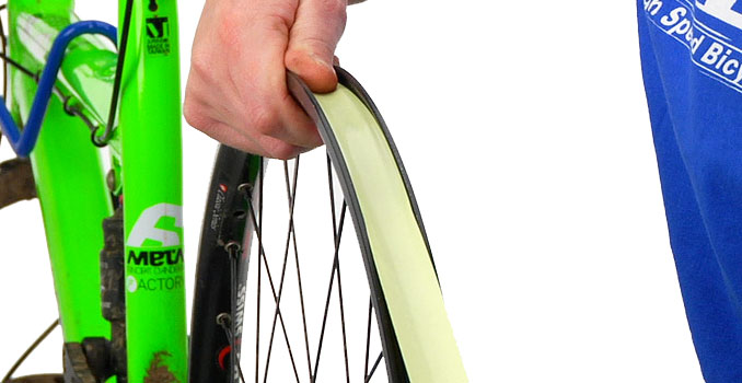 Convert non-tubeless wheels