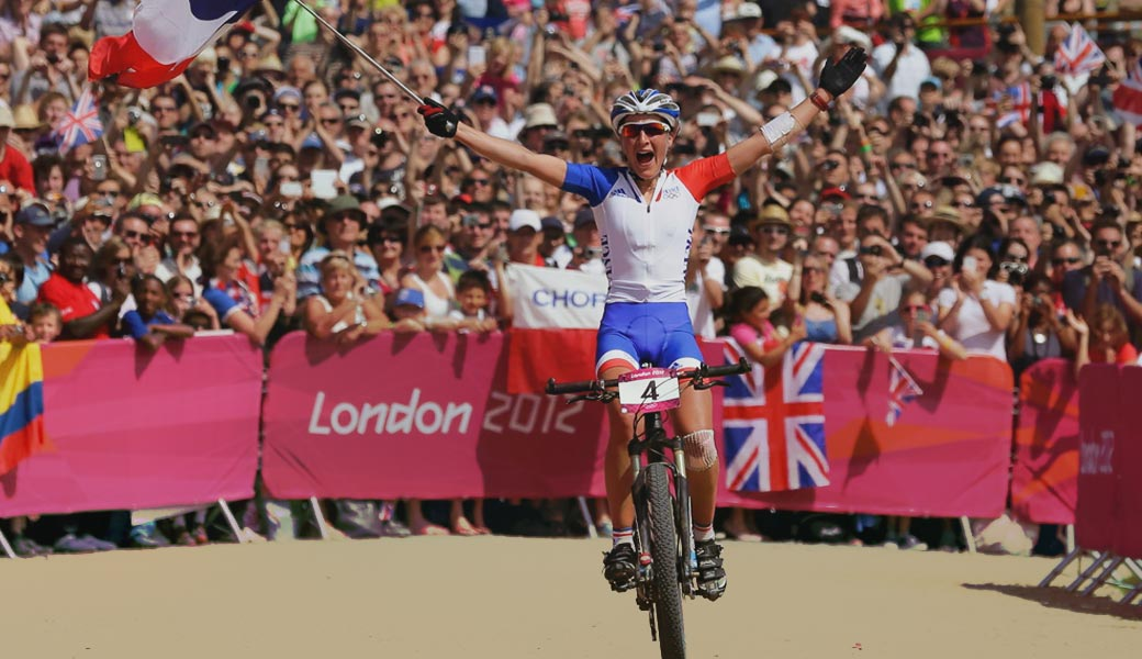MOUNTAIN BIKING IN OLYMPICS