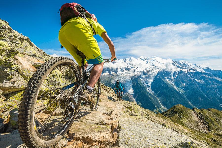 Mountain Biking Holidays In Europe - France - Alps