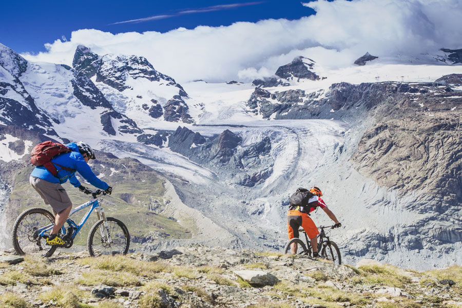 Mountain Biking Holidays In Europe - Switzerland
