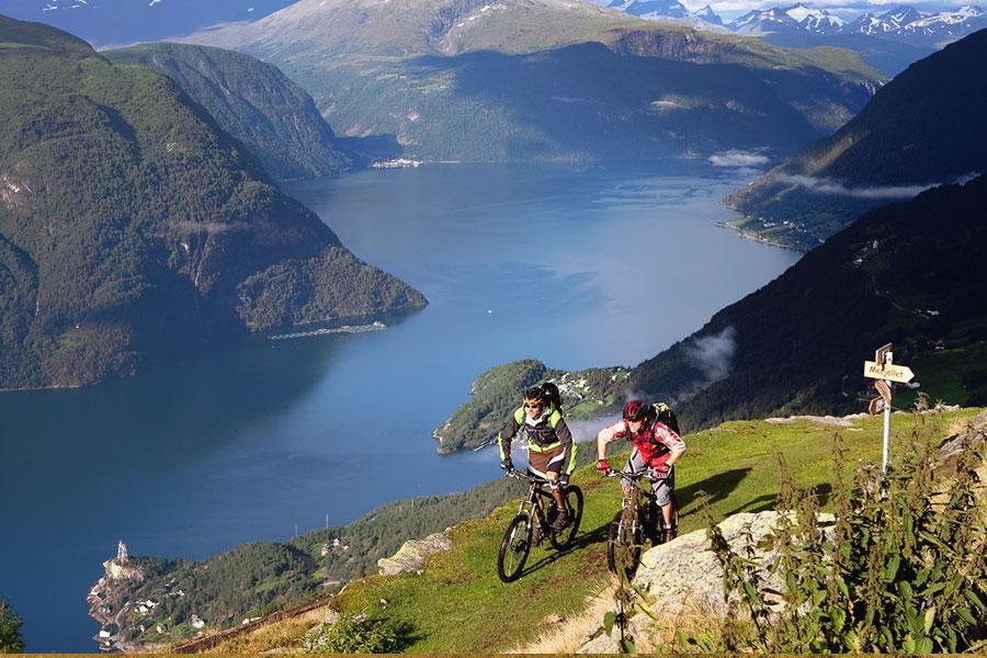Mountain Biking Holidays In Europe - Norway