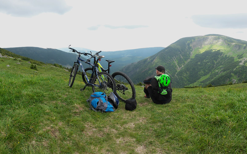 MTB KARKONOSZE - MOUNTAIN BIKING SUDETY / GIANT MOUNTAINS