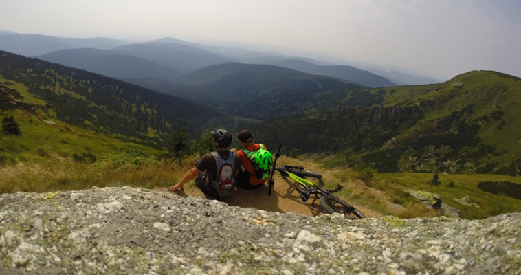 MOUNTAIN BIKING IN PICTURES – SUDETY MOUNTAINS