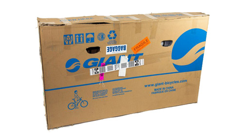 Bike Cardboard Box - How To Fly With Your Mountain Bike