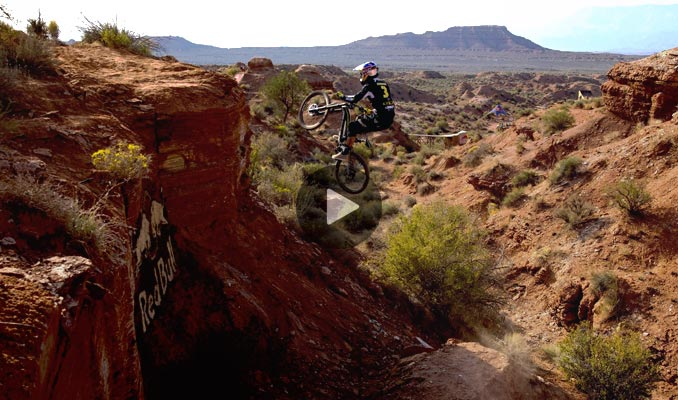 Gee Atherton – Crash Red Bull Rampage 2012
