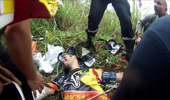 Cedric Gracia's Brush with Death - Bike Crash Near Death Experiences