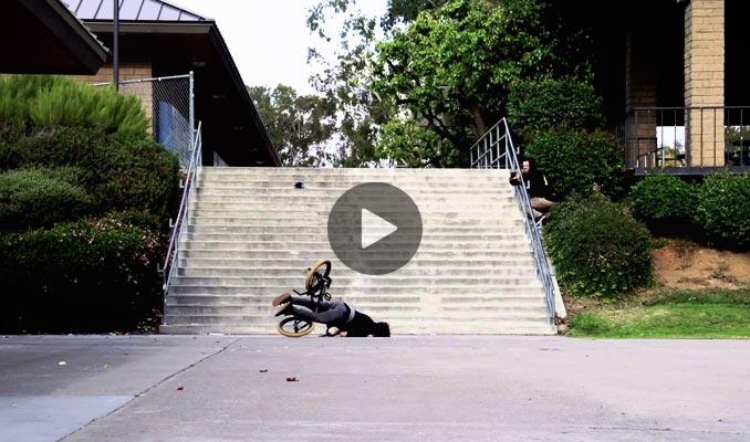 BMX FACE CRASH